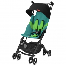 gb Pockit+ All Terrain Stroller-Laguna Blue