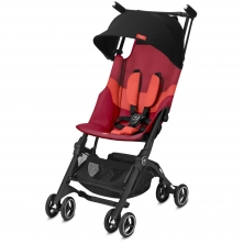 gb Pockit+ All Terrain Stroller-Rose Red