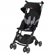 gb Pockit+ All Terrain Stroller-Velvet Black