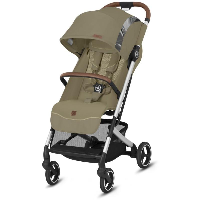 gb Qbit+ All City Fashion Edition Stroller-Vanilla Beige