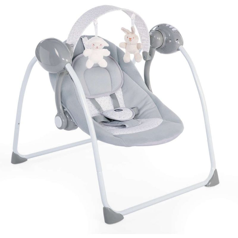 Chicco Relax and Play Swing-Cool Grey
