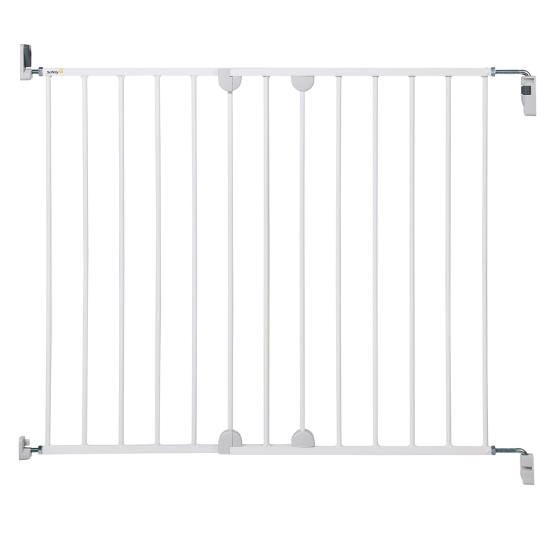 Safety 1st Wall Fix Extending Metal Safety Gate-White (NEW 2019)