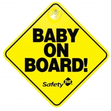 Safety 1st Baby on Board Sign (NEW 2019)