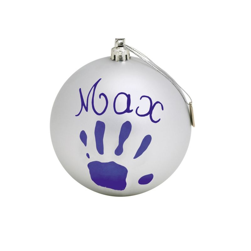 Baby Art My Christmas Fairy Bauble Silver (NEW 2019)