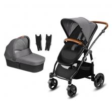 CBX Leotie Lux Pushchair and Pram-Comfy Grey