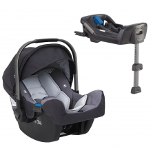 Nuna Pipa Icon 0+ Car Seat + FREE Isofix Base-Jett