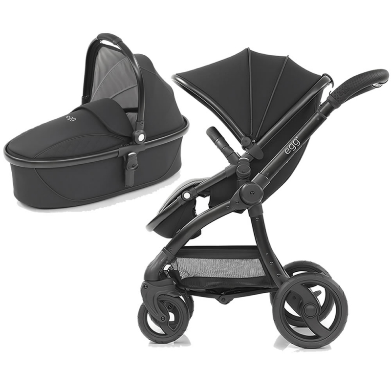 Egg� Special Edition 2in1 Pram System Just Black (New 2019)