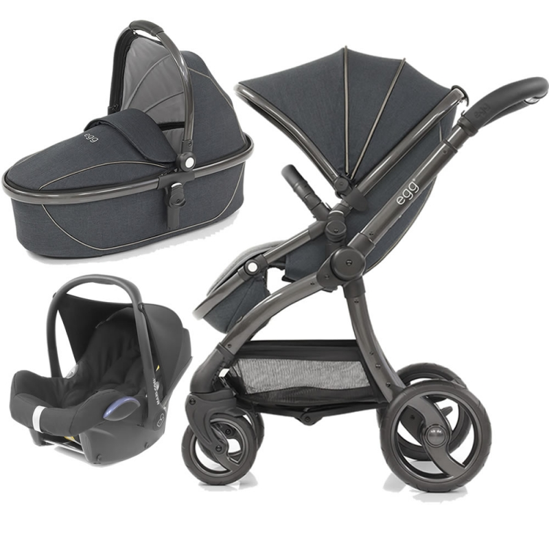 Egg� 3in1 Cabriofix Travel System Carbon Grey (New 2019)
