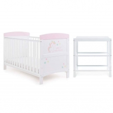 Obaby Grace Grace Inspire 2 Piece Furniture Set-Unicorn
