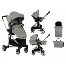 Babyco Belize Travel System-Grey