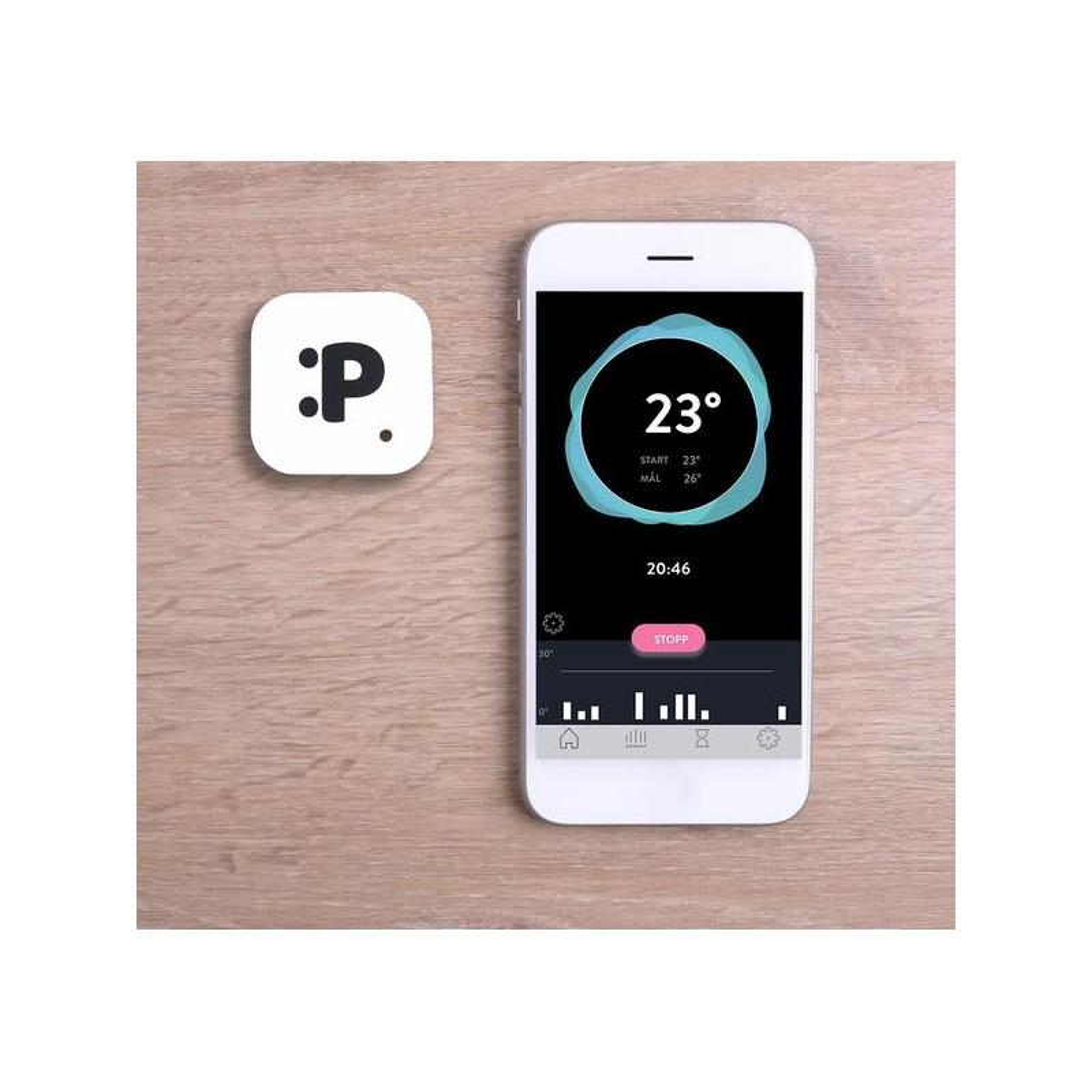 Parvel Go Motion & Temperature Baby Sensor
