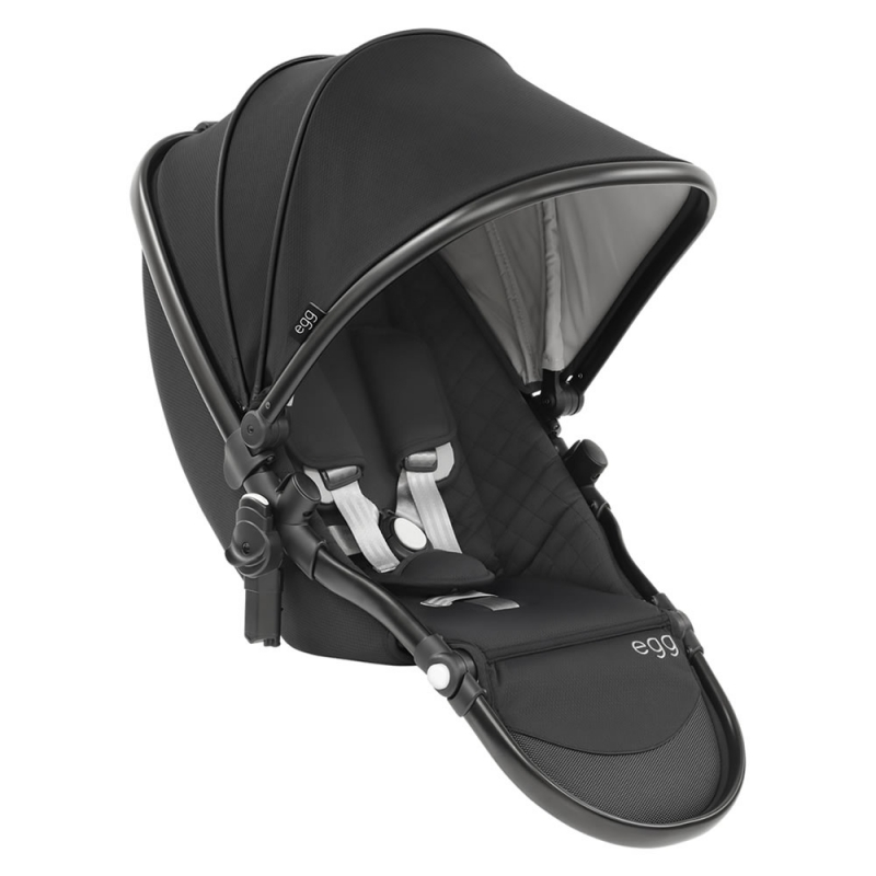 egg® Special Edition Package Tandem Seat- Just Black (New 2019)