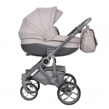 Roma Bambino Travel System-Grey Linen