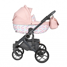 Roma Bambino Amy Childs Travel System-Flamingo