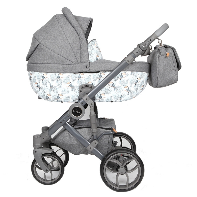 Roma Bambino SE Travel System Amy Childs Collection-Toucan