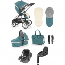 egg® Special Edition Luxury 3in1 Pebble+ Travel System with 3wayfix Base-Cool Mist (New 2019)