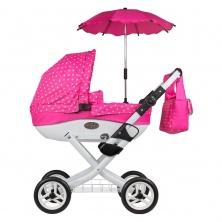 Roma Wynnie Dolls Pram Accessory Pack-Pink Polka