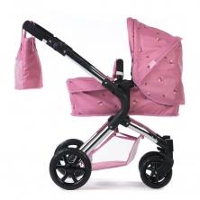 Roma Darcie Single Dolls Pram-Pink