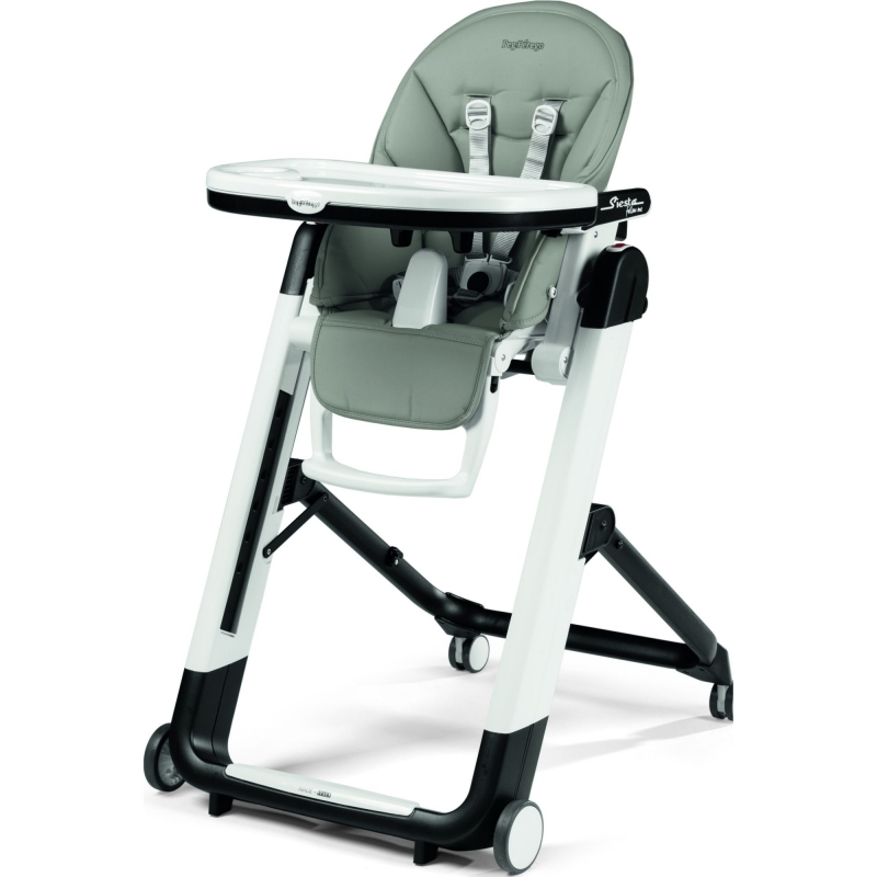 Peg Perego Siesta Follow Me Highchair-Ice (New 2019)