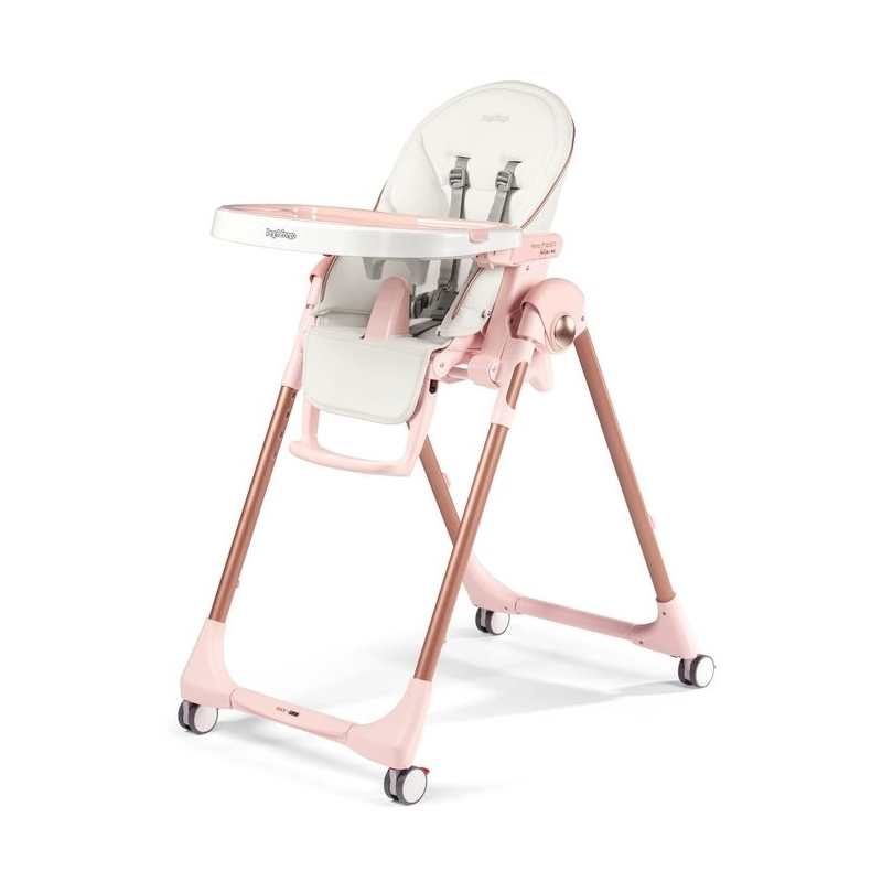 Peg Perego Prima Pappa Follow Me Highchair-Mon Amour (New 2019)