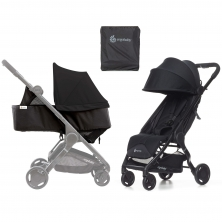 Ergobaby Metro Stroller with Newborn Kit and Carry Bag-Black
