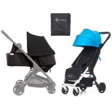 Ergobaby Metro Stroller with Newborn Kit and Carry Bag-Blue