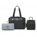 Storksak Stevie Luxe Scuba Changing Bag-Black