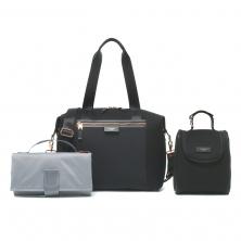 Storksak Stevie Luxe Scuba Changing Bag-Black