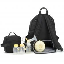 Storksak Hero Backpack Luxe-Black
