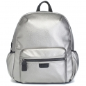 Babymel Luna Faux Leather Changing Bag-Pewter (New)