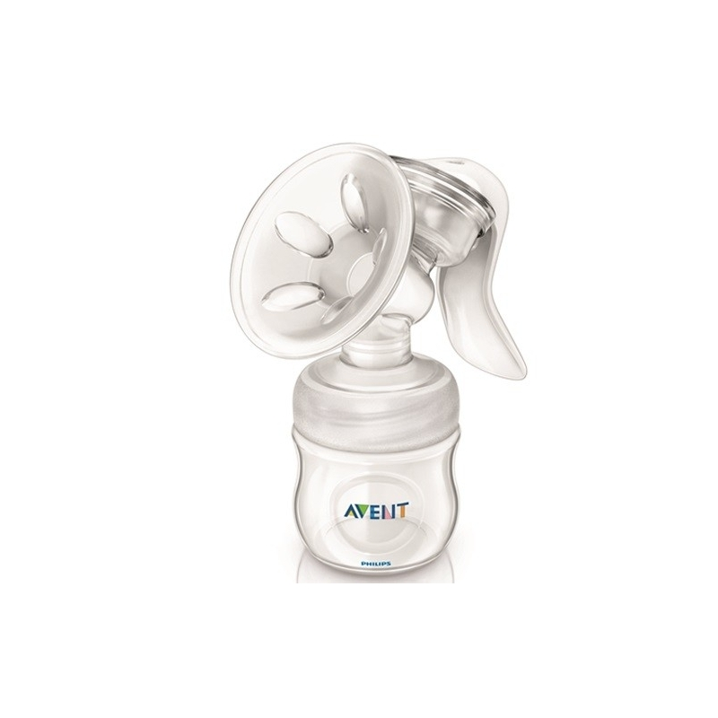 Avent Maneal Breast Pump with Bottles