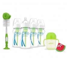 Dr Brown Options 4 Bottle Gift Set-Green