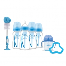 Dr Brown Options 4 Bottle Gift Set-Blue