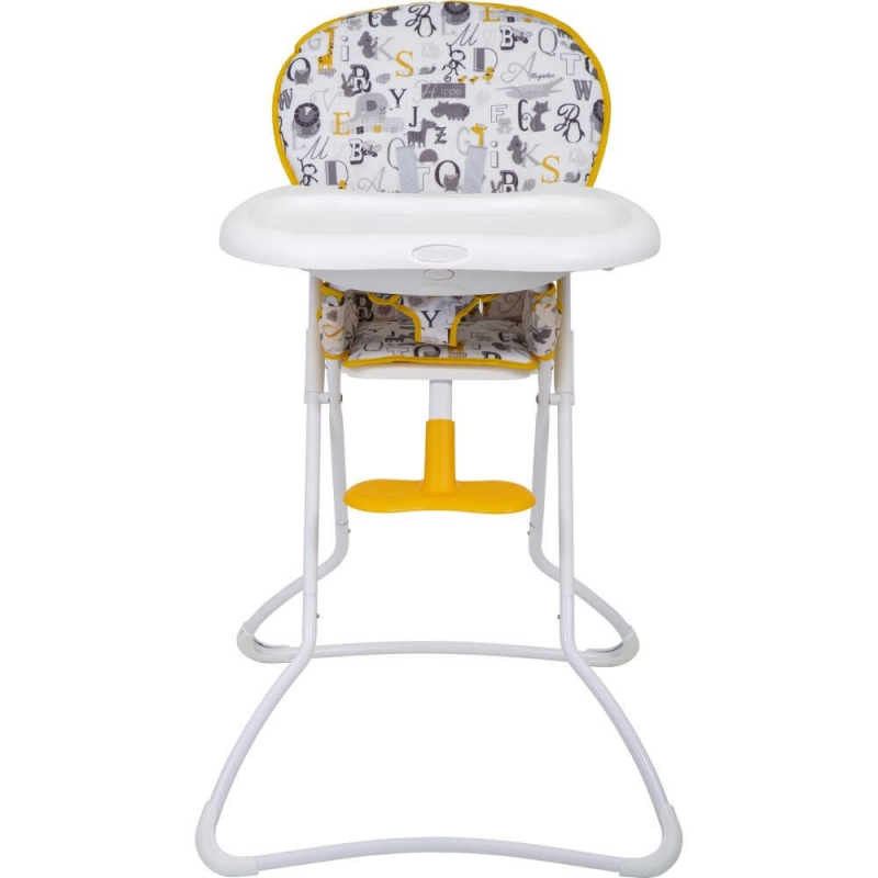 Graco Snack N Stow Highchair-ABC