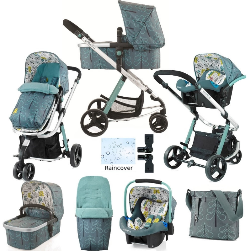 Cosatto Giggle 2 Port 3in1 Travel System with Car Seat-Fjord (New)
