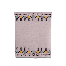 Bizzi Growin Cheeky Monkey Knitted Baby Blanket
