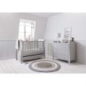 Tutti Bambini Roma Sleigh 2 Piece Room Set-Dove Grey