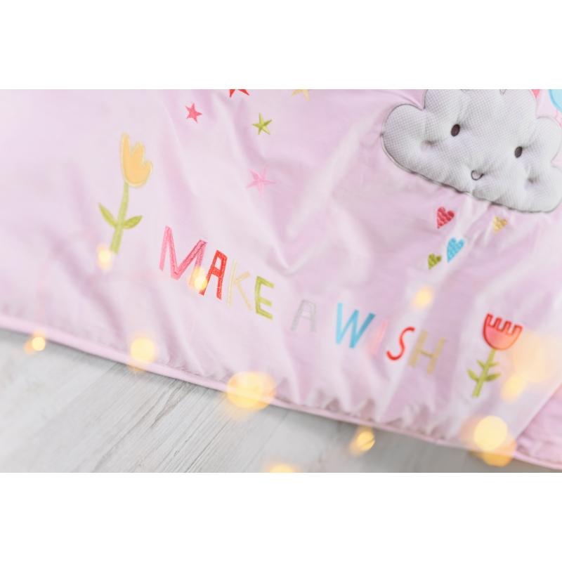 best service de9c4 f42ec Bizzi Growin Cot Bed Quilt-Rainbow & Unicorns