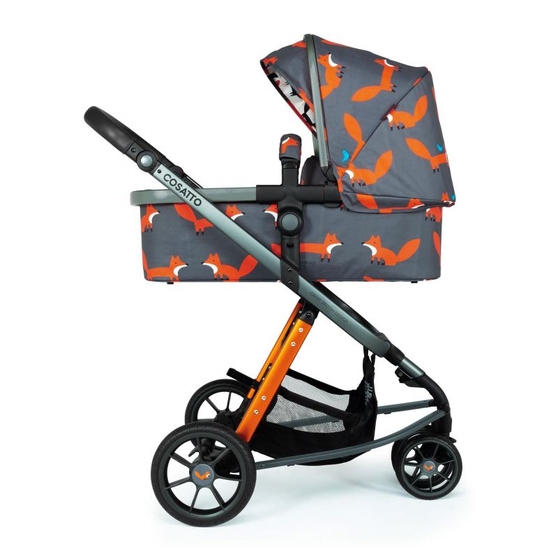 Cosatto Giggle 3 Pram and Pushchair-Charcoal Mister Fox