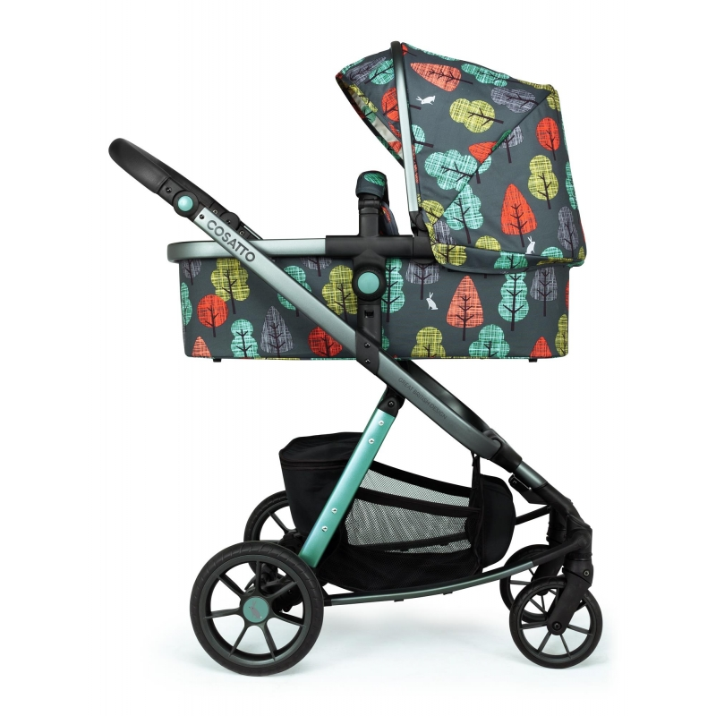 Cosatto Giggle Quad Pram and Pushchair-Hare Wood