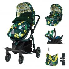 Cosatto Giggle Quad Pram & Pushchair Whole 9 Yards Bundle-Into The Wild