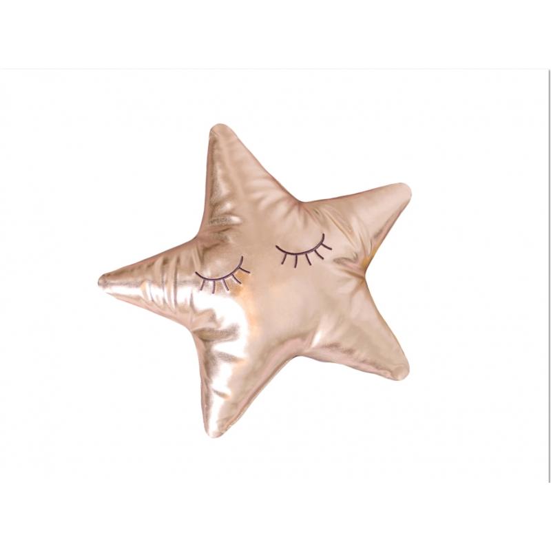 Bizzi Growin Star Cushion-Gold
