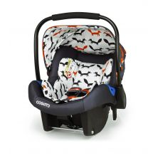 Cosatto Port 0+ Car Seat-Charcoal Mister Fox