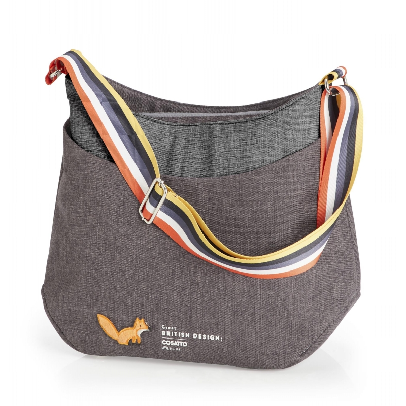 Cosatto Changing Bag-Charcoal Mister Fox