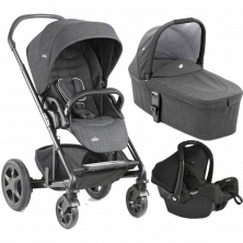 Joie Chrome DLX 3in1, Gemm Travel System-Pavement (New)