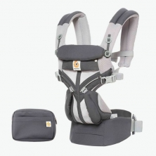 Ergobaby Omni 360 Cool Air Mesh Baby Carrier-Carbon Grey (2020)