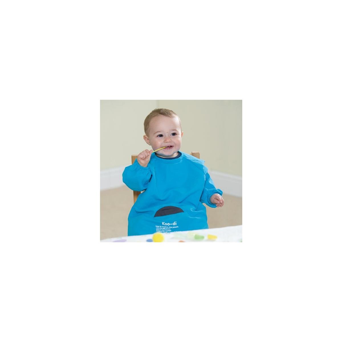 Koo-di Play & Eat Smock-Blue