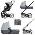 Mutsy i2 Pure 3in1 Black Chassis-Cloud
