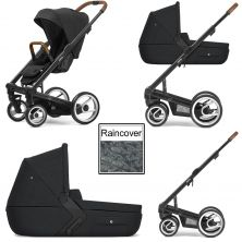 Mutsy i2 Heritage 3in1 Black Chassis-Black