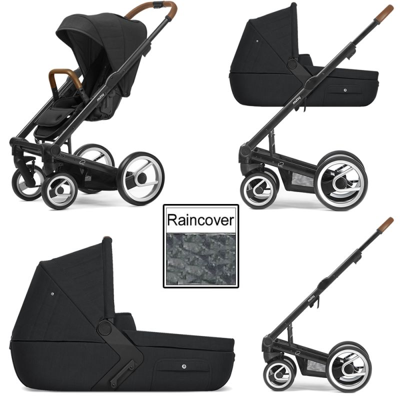 Mutsy I2 Heritage 3in1 Black Chassis Black